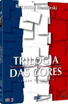 dvd trilogia das cores, kieslowsky, 3 filmes estojo amaray +