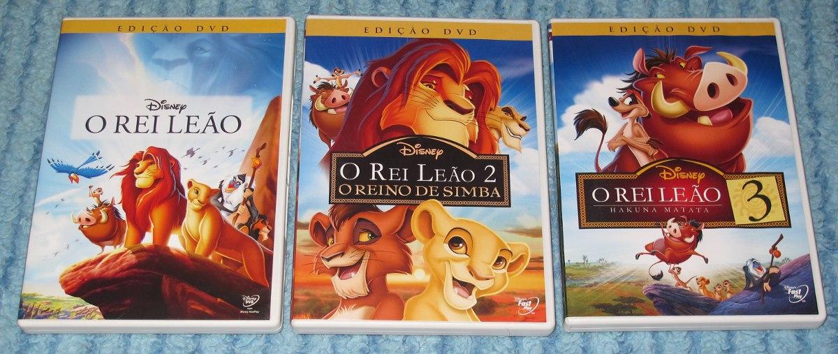 trilogia o rei leao