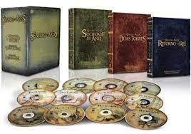 dvd trilogia senhor dos anéis - versão estendida