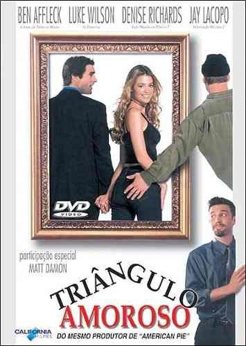 dvd - triângulo amoroso - ben affleck - lacrado