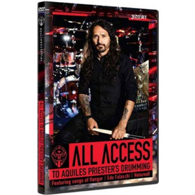 Dvd Triplo All Access To Aquiles Priesters Drumming