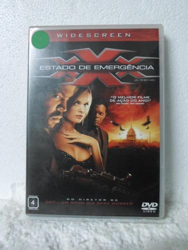 dvd triplo x - estado de emergencia - original