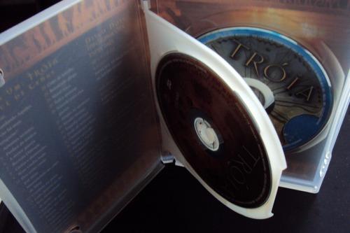dvd tróia - duplo