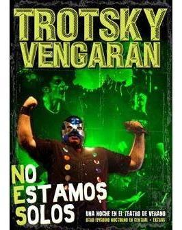 dvd trotsky vengaran - no estamos solos (2009)