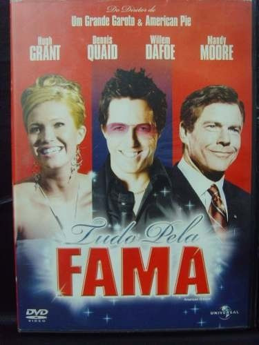 dvd - tudo pela fama