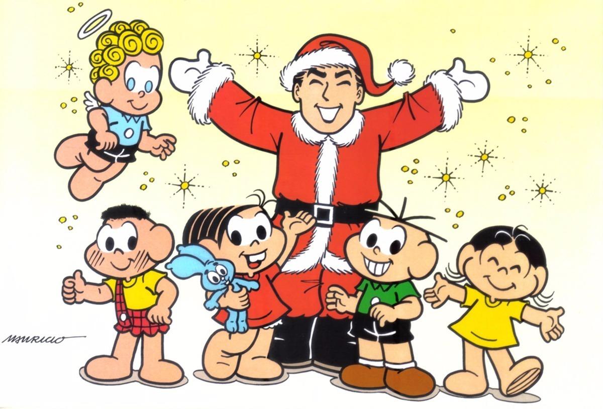 Dvd Turma Da Monica Desenhos Especiais De Natal R 16 00 Em