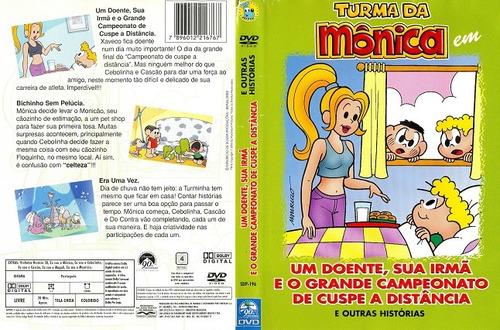 dvd turma da monica um doente sua irma e campeonato de cuspe
