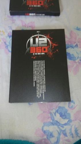 dvd u2 com 02 cds + encarte com fotos