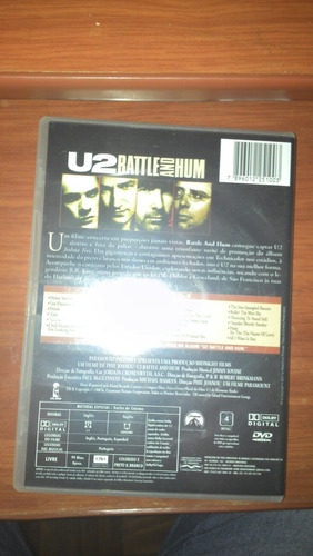 dvd: u2 rattle and hum