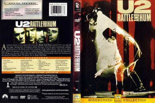 dvd u2 - rattle and hum importado