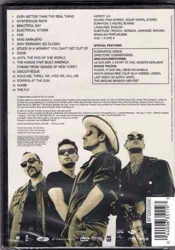 dvd u2 - the best of 1990 /2000 (bonus videos