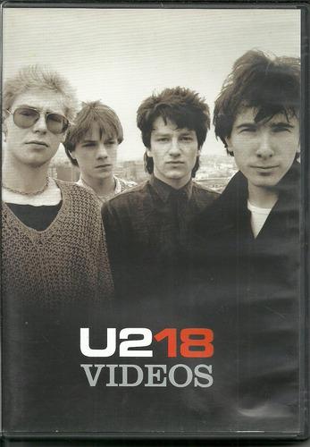 dvd u2 - u2 18 vídeos - 2006