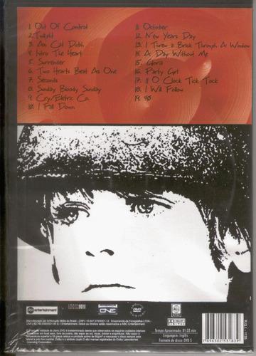 dvd u2 under a blood red sky 1983 - lacrado de fábrica