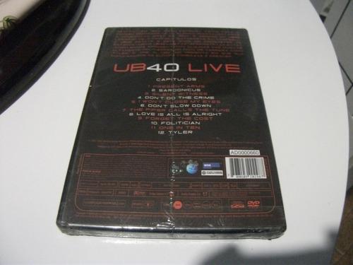 dvd ub 40 live lacrado e8b3