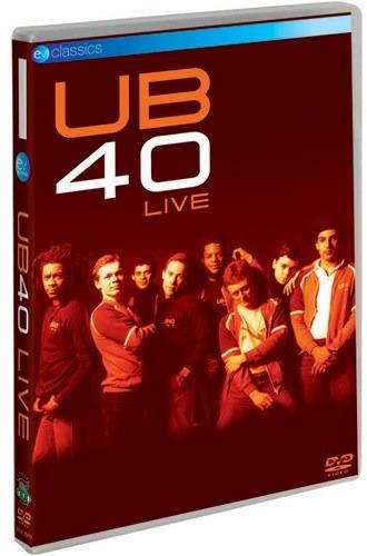 dvd ub40 - live