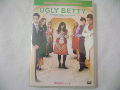 dvd  ugly betty versao ajeitadinha episodio 5-8