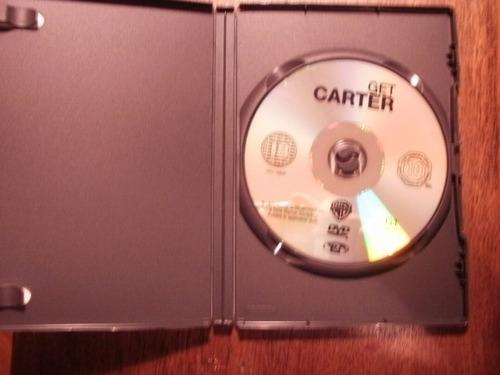 dvd uk película británica get carter, con michael caine