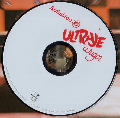 dvd ultraje á rigor - acústico mtv