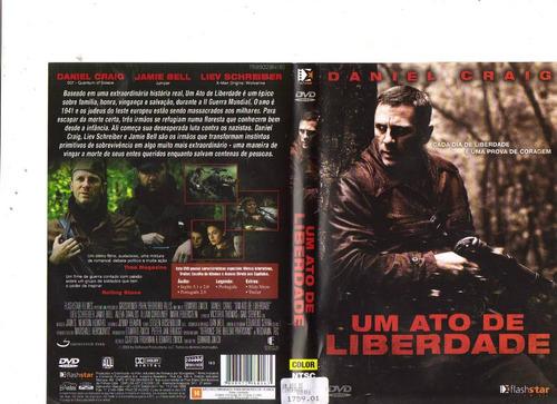 dvd um ato de liberdade, daniel craig - guerra - original