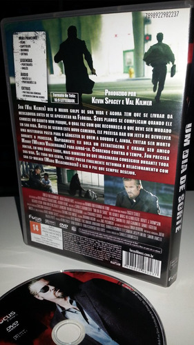 dvd um dia de sorte, val kilmer - filme original