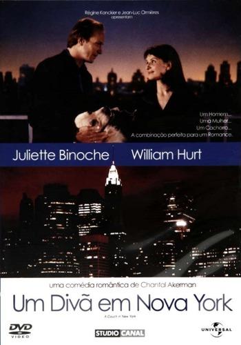 dvd - um divã em nova york - ( un divan à new york )
