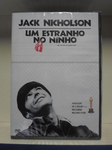 dvd um estranho no ninho - lacrado - original