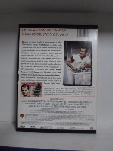 dvd um estranho no ninho - original