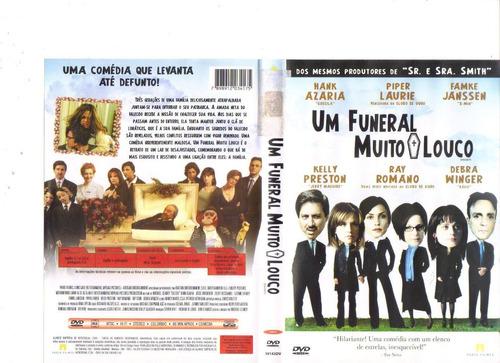 dvd um funeral muito louco, hank azaria - comédia - original