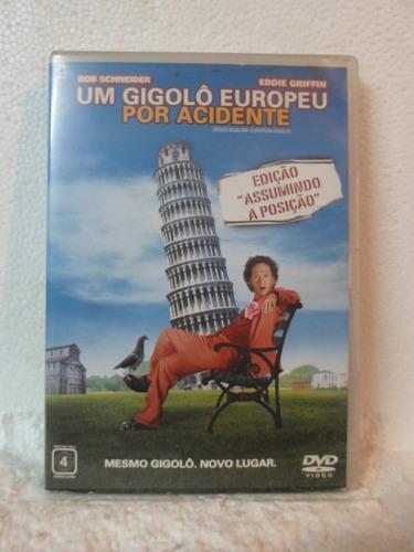 dvd um gigolo europeu por acidente - original