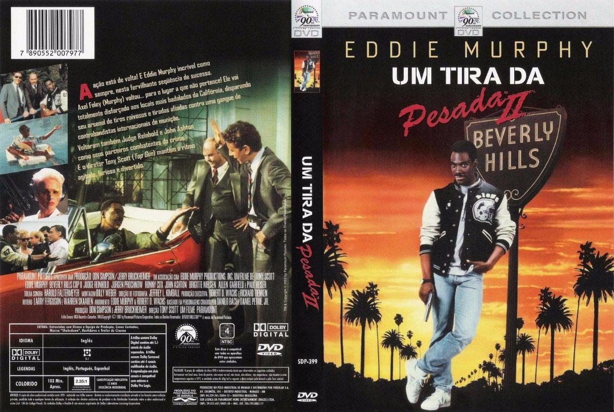 Dvd Um Tira Da Pesada 2 (1987) - Dublagem Clássica Da Tv - R$ 34 ...