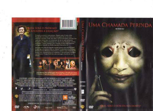 dvd uma chamada perdida - suspense - original
