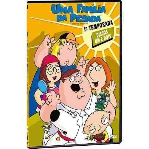 dvd uma familia da pesada - 1 temporada (2 discos)