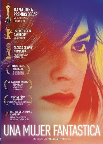 dvd una mujer fantastica estreno 2018 ganadora del oscar