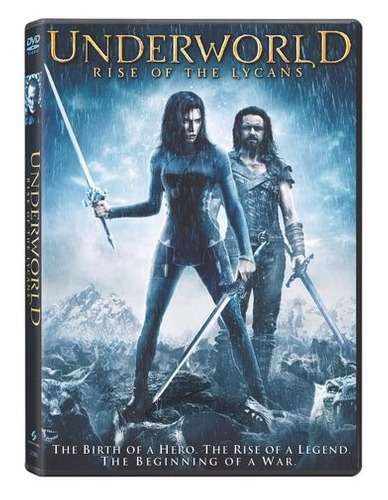 dvd underworld rise of the lycans