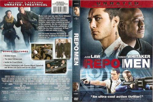 dvd usa jude law whitaker repo men los recolectores zona 1