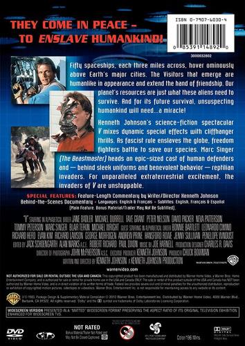 dvd v invasion extraterrestre / v the original miniseries