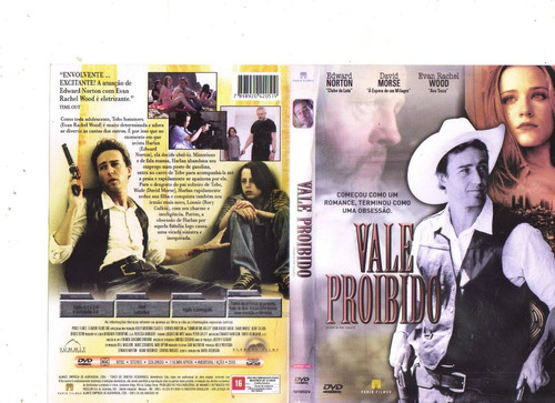 dvd vale proibido, edward norton, western, original