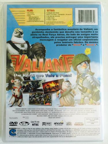 dvd valiant um herói que vale a pena! (2005)
