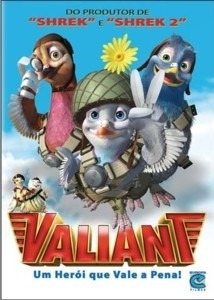 dvd valiant - um heroi que vale a pena