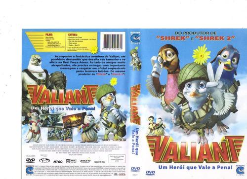 dvd valiant - um herói que vale a pena - animação - original