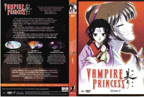 dvd - vampire princess: volume 2