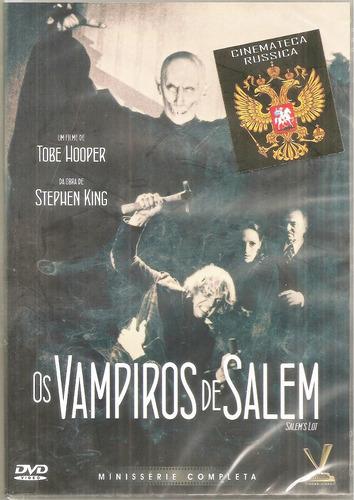 dvd vampiros de salem, base obra stephen king 184 minutos  +