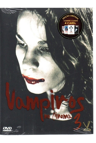 dvd vampiros no cinema 3 c/cards - versatil - bonellihq f19
