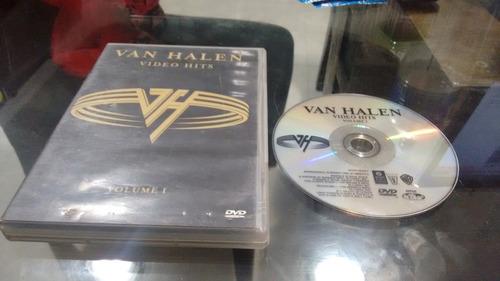 dvd van halen video hits vol 1 en formato dvd