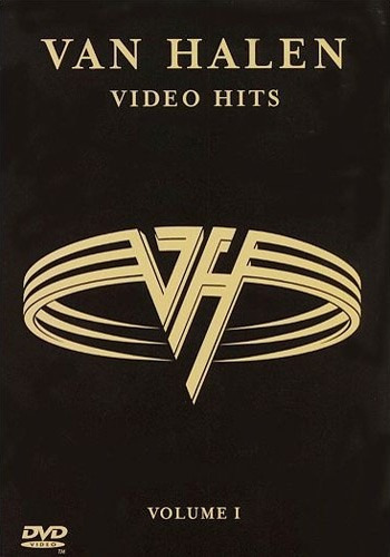 dvd-van halen-video hits-vol.1-importado em otimo estado