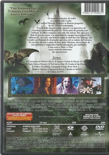 dvd van helsing o caçador de monstros