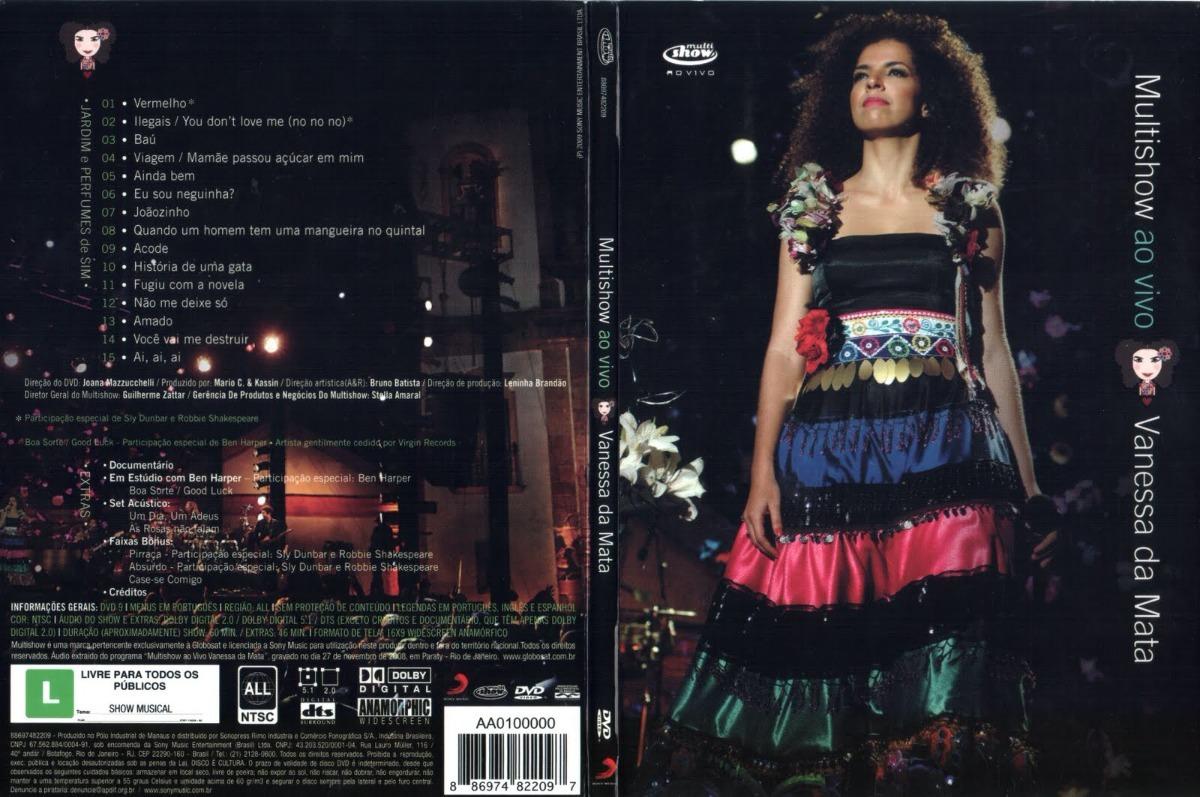 dvd de vanessa da mata multishow
