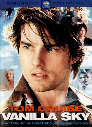 dvd vanilla sky - tom cruise & penelope cruz - original!!!