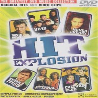 dvd  various artists hit explosion [dvd]
