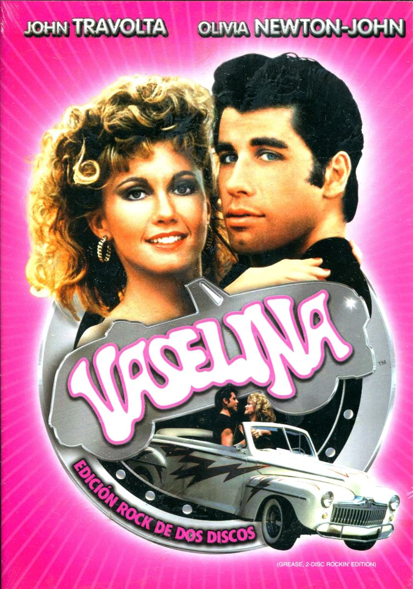 Dvd Vaselina ( Grease ) - John Travolta / Olivia Newton ...
